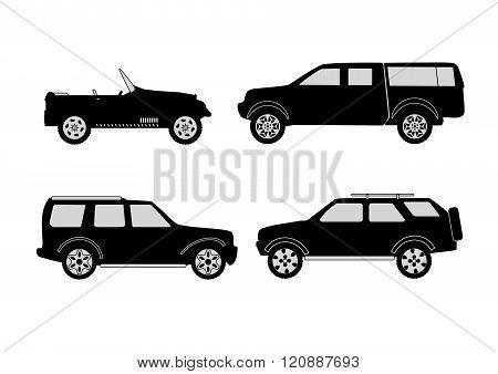 4X4 Vehicle Set