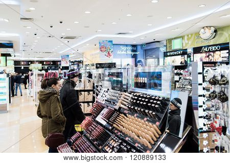 Store Of Cosmetics And Perfumes