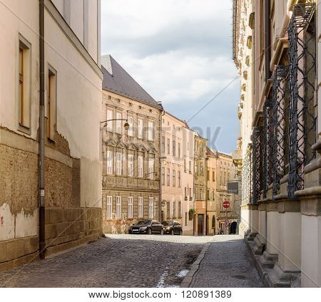 Architecture Of Old Town Olomouc, Czech Republic