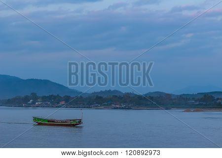 Evening At Mekong Riverside