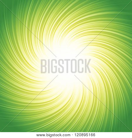 Colorful Abstract Spiral, Vortex Background In Square Format