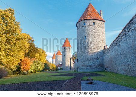 Tallinn. Estonia. Old city.