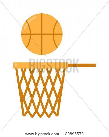 basketball ball net vector illustration. basketball ball net isolated on white background. basketball ball net vector icon illustration. basketball ball net isolated vector. basketball ball net