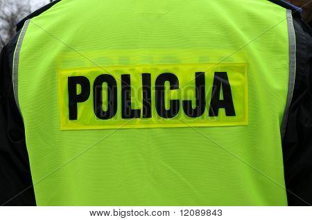 Policeman in Poland