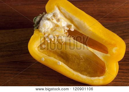 chopping Board yellow pepper