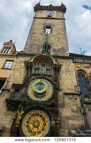 Prague Old Town Center Astronomical Clock Tower and Museum