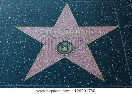 Ed Mcmahon Hollywood Star