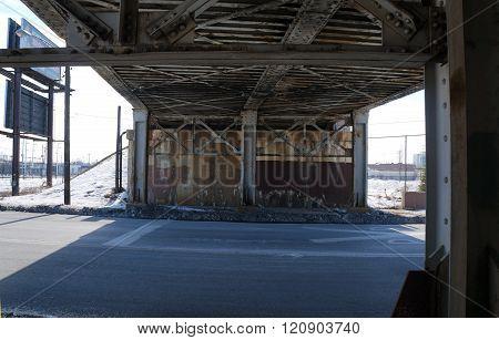 Railroad Underpass