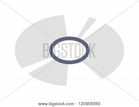 CD isometric vector illustration