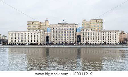 Headquarters Of The Ministry Of Defense Of Russia
