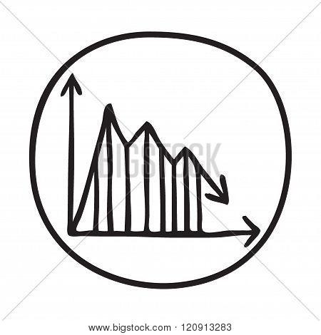 Doodle Graph icon.