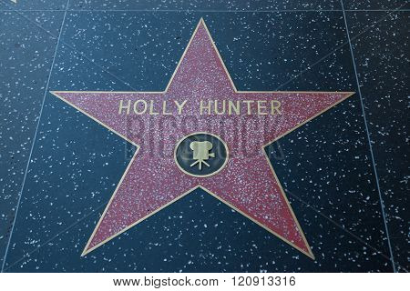 Holly Hunter Hollywood Star