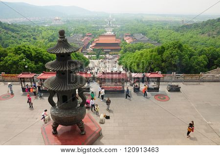 Lingshan Tourist Area
