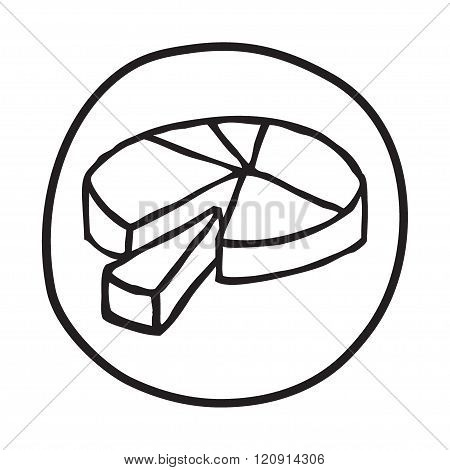 Doodle Pie Chart icon.