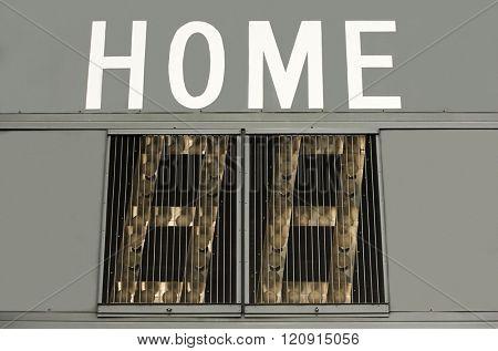 Home score