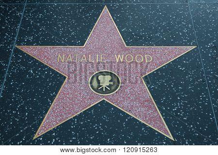 Natalie Wood Hollywood Star