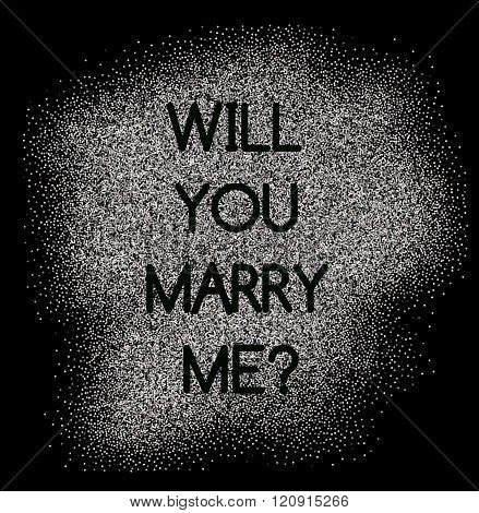 Will You Merry Me Card