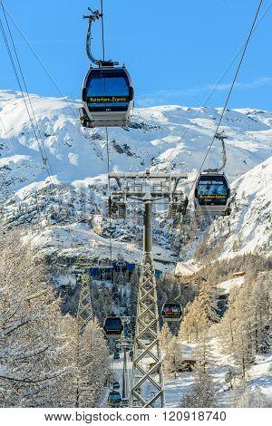 Street Skiing Zermatt