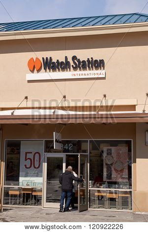 Watch Station Outlet.