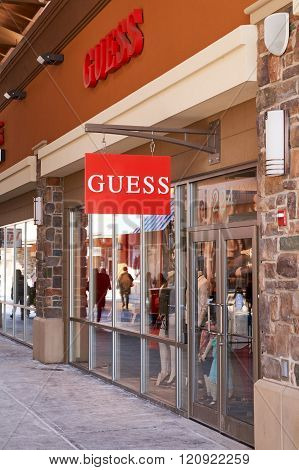 Guess Outlet.