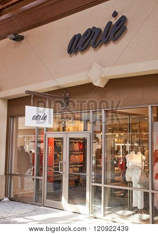 Aerie Outlet.