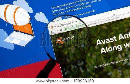 Avast Antivirus On The Web.