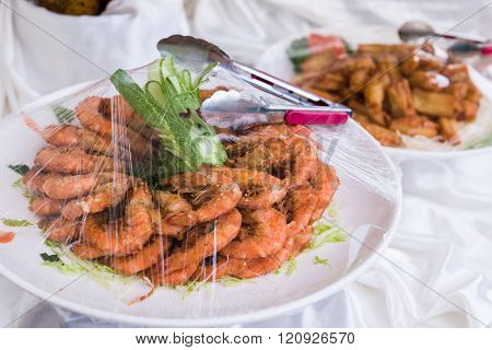 Chinese Style Prawn Cuisine