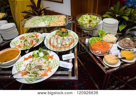 Assortment Of Salad Dishes