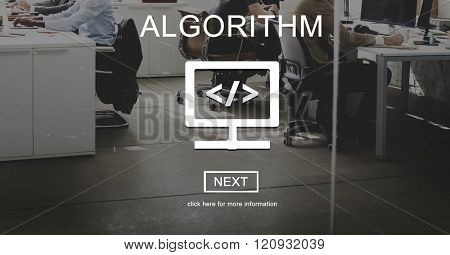 Algorithm Coding CSS Web Development Software Technology Concept