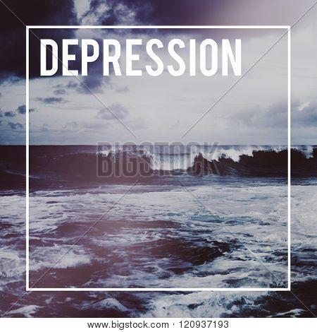 Business Opportunity Crisis Depression Decline Concept