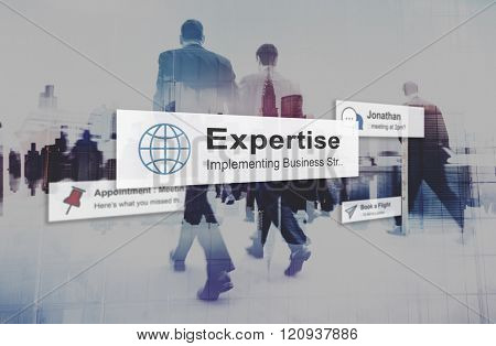Expertise Expert Excellent Excellence Brilliant Ability Concept