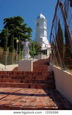 Stairs To Salvation, La Monserrate, Hormigueros, Puerto Rico