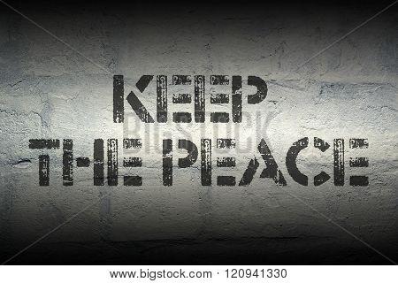 Keep The Peace Gr