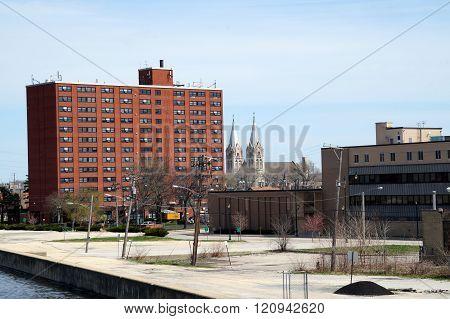 Buildings in Downtown Joliet