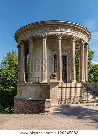 The Temple of the Sibyl at Pulawy, also known as the