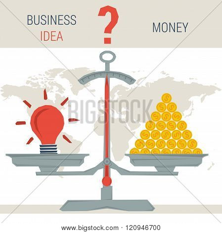 Scales - Idea Or Money