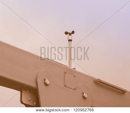 Wind Meter Vintage