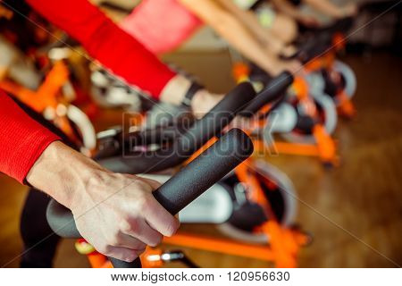 People In Gym