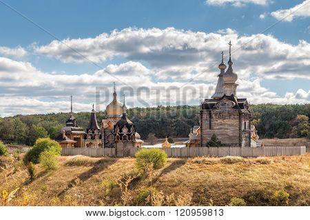 Voskresensky New Jerusalem Monastery. Village Sukharevo. Russia