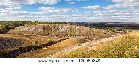 Rural Landscape. Belgorod Region. Russia