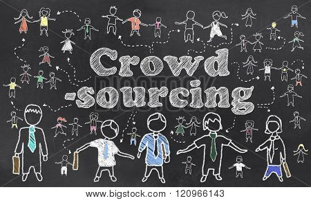 Crowd Sourcing Illustration