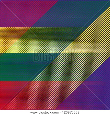 Bright background in a diagonal stripes