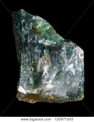 Raw Moss Agate