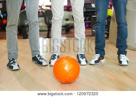 bowler and the ball