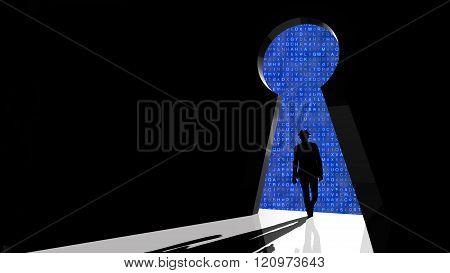 Black Hat Hacker Walks Through Backdoor