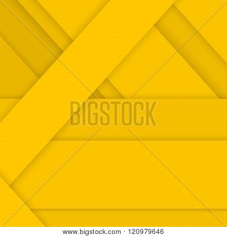 Yellow Background in Material Design Style
