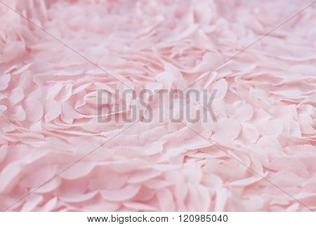 pink textile soft background.