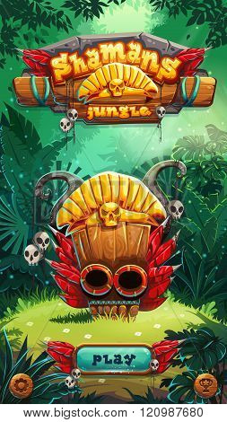 Jungle Shamans Mobile Gui Play Window