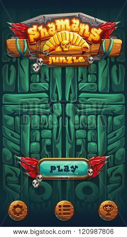 Jungle Shamans Mobile Gui Play