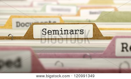Seminars - Folder Name in Directory.